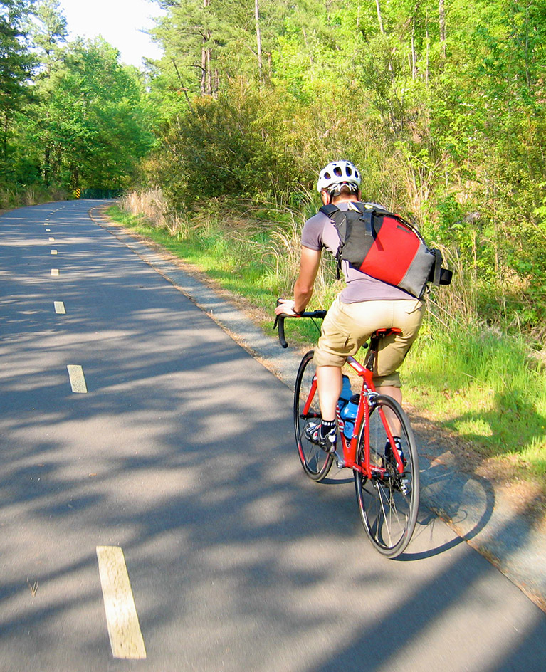 recreational trails throughout Montgomery
